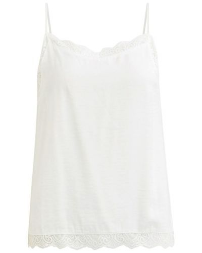 CHARIS TOP LENCERO BLANCO